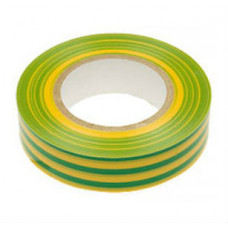 Изолента ПВХ 19 мм желто-зеленая