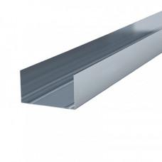 Стандартный профиль направляющий ПН 75х40х0,50 мм. 3 м