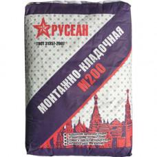 Монтажно-кладочная смесь РУСЕАН М200 40кг