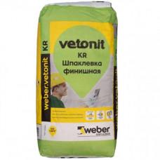 Шпаклевка WEBER.Vetonit KR 20 кг